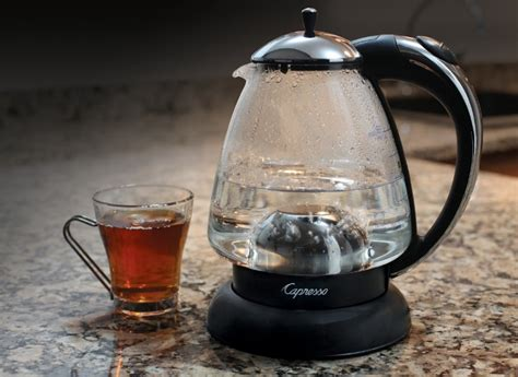 Review The Ingenuitea Microwavable Tea Pot by Best Electric Tea Kettles From Consumer Reports Tests