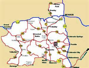 mt colorado map map of central colorado historic mountain towns