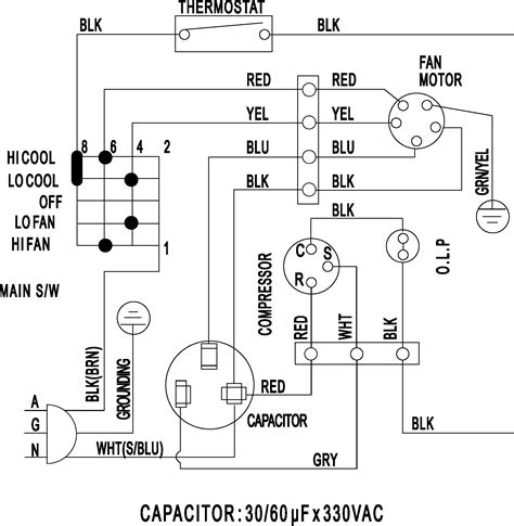 wiring diagram air conditioning unit wiring diagram