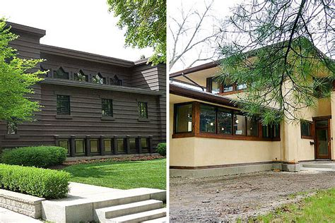 prairie style homes for sale two prairie homes go green and one is for sale chicago