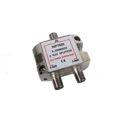 Scatv Splitter 6 Way Pacific 5 2400mhz distribuidores repartidores splitter tdt y satelite