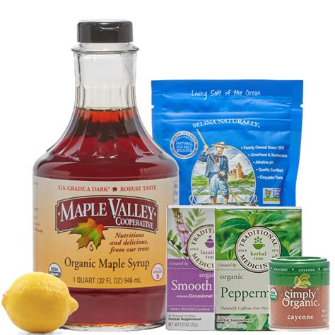Xpulsion Detox 32 Oz Directions by 5 Day Master Cleanse Kit Maple Valley Cooperative