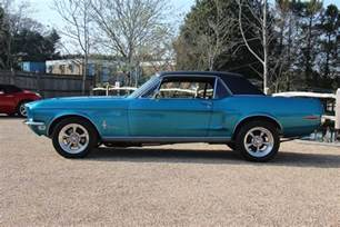 68 Ford Mustang 68 Ford Mustang Gt Coupe Pilgrim Motorsports