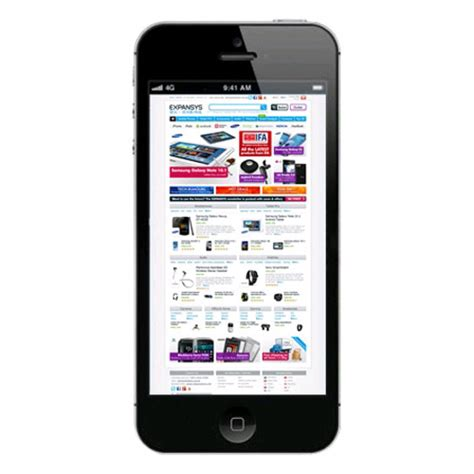 Hp Apple Iphone 5 64gb apple iphone 5 64gb black expansys uk
