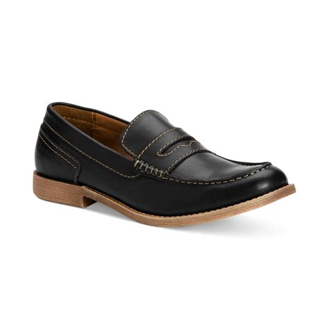 calvin klein shoes calvin klein prezley slip on shoes in black