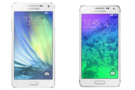 Hp Samsung Alpha A5 samsung galaxy a5 vs alpha le comparatif meilleur mobile