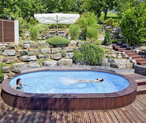 komplett pool mit überdachung oval schwimmbecken komplett angebot lago sb einbau
