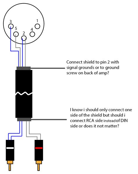 8 pin din connector wiring diagram get free image about
