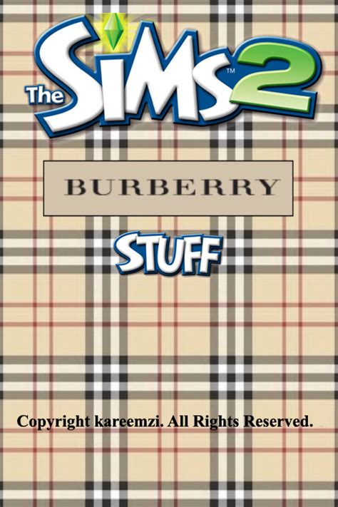 the sims 2 pack snooty sims view topic the sims 2 burberry stuff pack