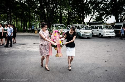 illegal girls gallery ostensibly ordinary pyongyang photography m1key