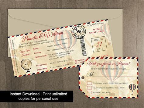 printable luggage tags wedding diy printable wedding boarding pass luggage tag template