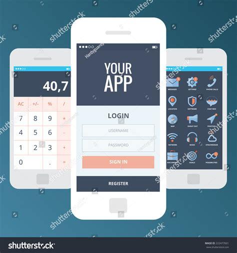 login welcome mobile wireframe mobile app ui kit screens welcome screen login