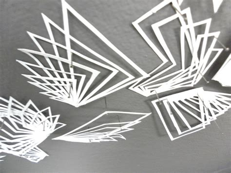 3d Shapes From Paper - designstalker papercuts