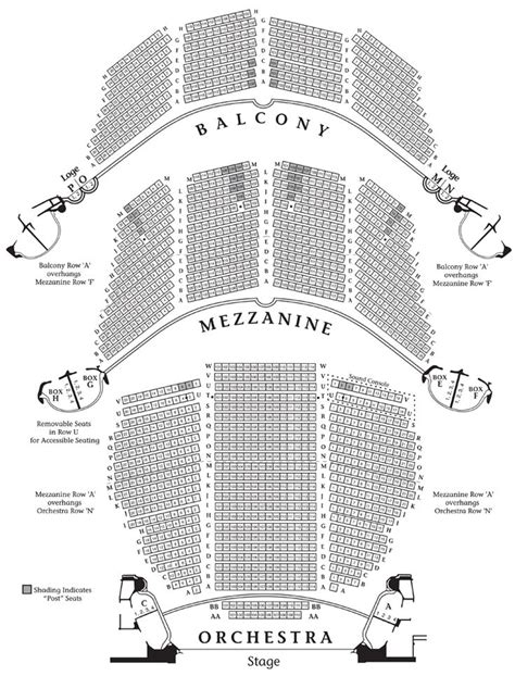 1000 images about boston theater seating charts on home colonial and performing arts