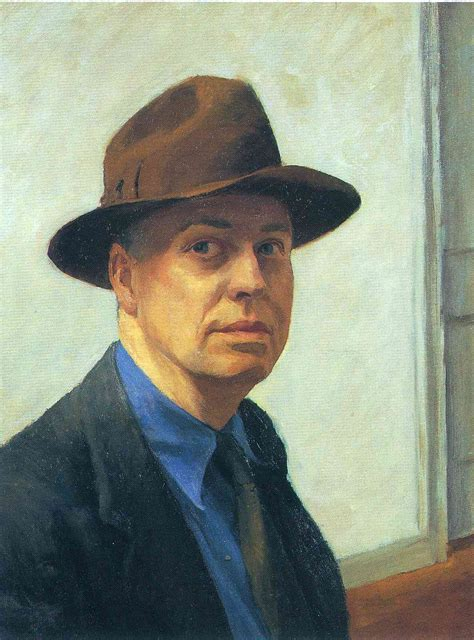 edward hopper portraits of self portrait 1925 1930 edward hopper wikiart org