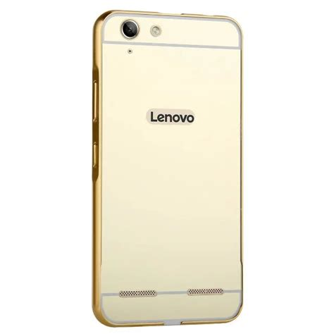 Mirror Lenovo Vibe K5 Plus Aluminum Bumper 1 lenovo k5 luxury gold plating armor aluminum frame mirror acrylic back cover phone