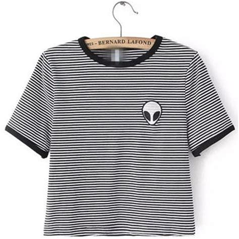 black and white pattern t shirt black and white striped alien pattern from western moon