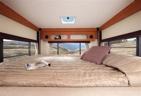 drop down bed winnebago ceduna motorhome