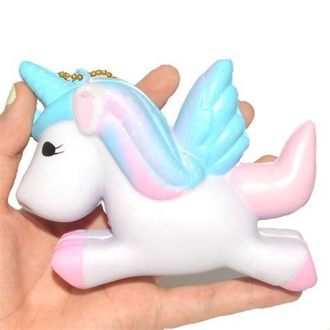 aliexpress unicorn aliexpress com buy new cute jumbo galaxy unicorn squishy