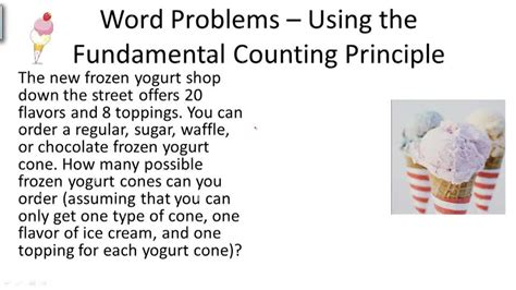 The Fundamental Counting Principle Worksheet by Fundamental Counting Principle Worksheet Lesupercoin