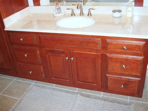 red bathroom cabinets red mahogany on cherry bath cabinets