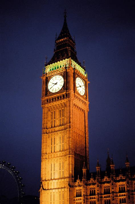 london clock tower england