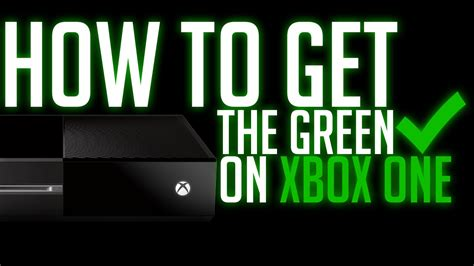 how to get verified on xbox one