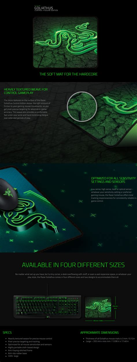 Mousepad Gaming Model Razer Small 21 X 25 razer goliathus fissure edition soft gaming mouse pad alpha fissure large rz02