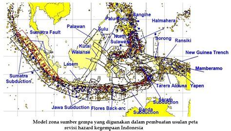 standar layout peta civil inc peta gempa indonesia 2010