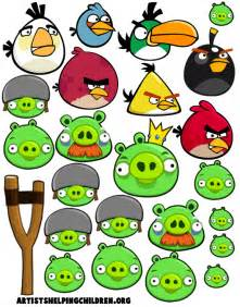 angry birds magnet kids crafts