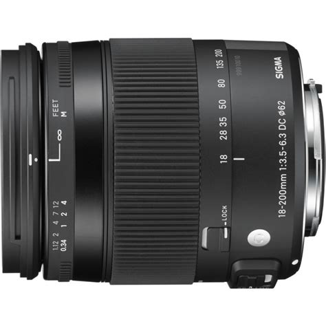 Sigma 18 200mm Canon sigma 18 200mm f 3 5 6 3 dc os hsm contemporary lens for