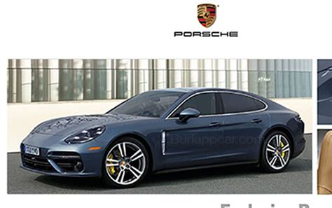 porsche panamera 2017 exterior leaked this is the new porsche panamera according to