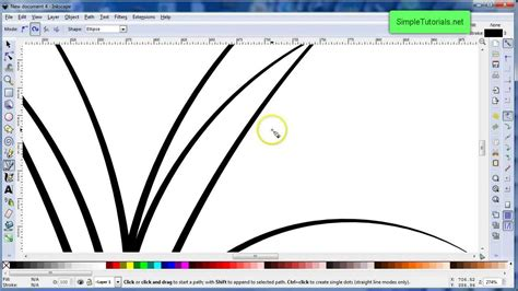 vector grass tutorial draw a grass patch in inkscape tutorial youtube