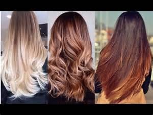 color de pelo tendencias de cabello colores tonos de pelo de moda y