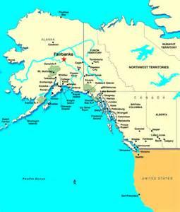 Fairbanks Alaska Map by Fairbanks Ak Discount Cruises Last Minute Cruises