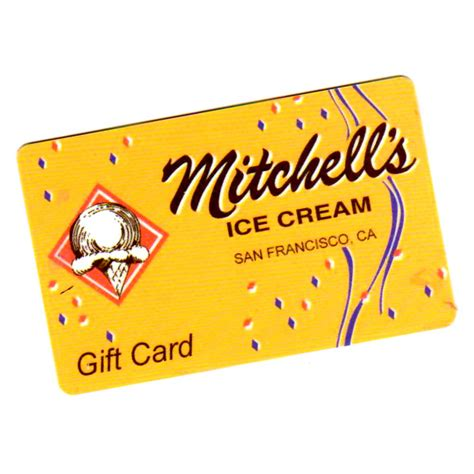 gift card mitchell s ice creammitchell s ice cream - Mitchell S Ice Cream Gift Card