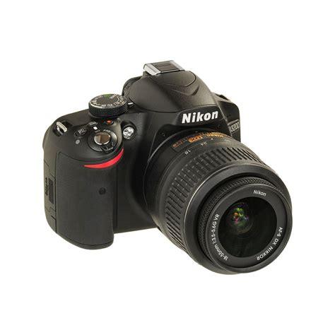 nikon d3200 dslr nikon d3200 kit with af18 55vr ii black consumer dslr
