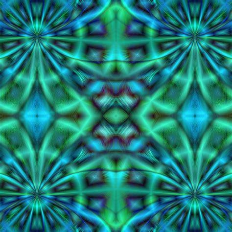 blue kaleidoscope wallpaper blue green kaleidoscope free stock photo public domain