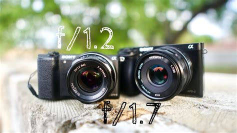 Neewer 35mm F1 7 2 7artisans 35mm f1 2 vs neewer 35mm f1 7