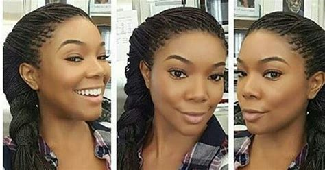 segalese braids advantages and disadvantages gabrielle union s micro braids african hairstylez