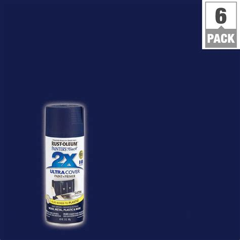 home depot yankee blue paint rust oleum painter s touch 2x 12 oz midnight blue satin
