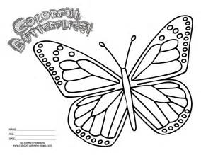 coloring pages monarch butterfly pictures of butterflies coloring home