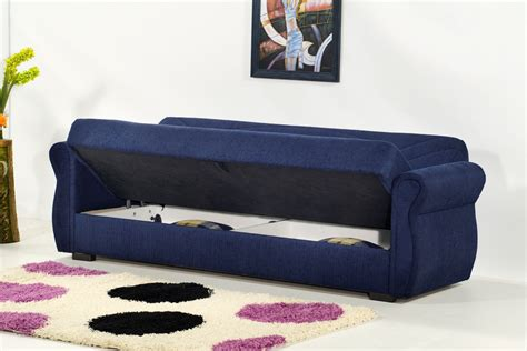 navy blue chenille sofa blue sofa bed oak creek click clack futon sofa bed navy