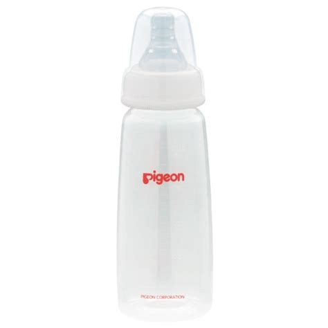 Pigeon Pp Botol 240ml Wide Neck pigeon slim neck pp nursing bottle with peristaltic