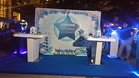 Giveaways Christmas - jose mari chan introduced quot samsung christmas giveaway
