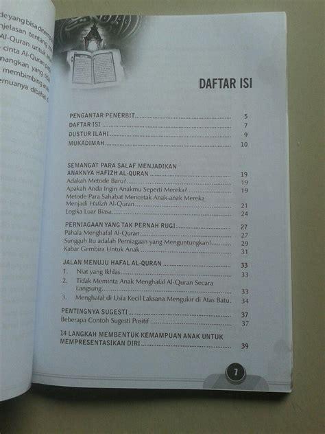 Buku Import Anak Kecil 4 buku kecil kecil jadi hafizh tips praktis agar anak hafal al quran