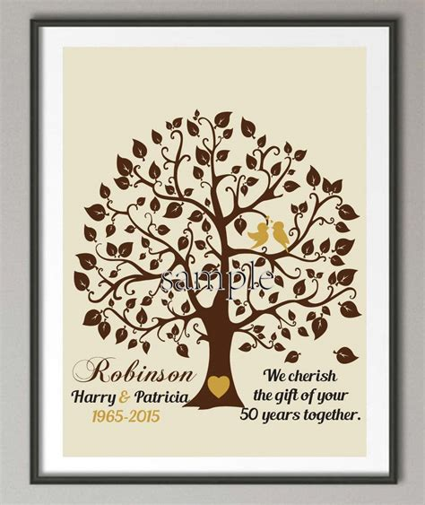 Wedding Anniversary Gift Stores by Aliexpress Buy Personalized 50th Wedding