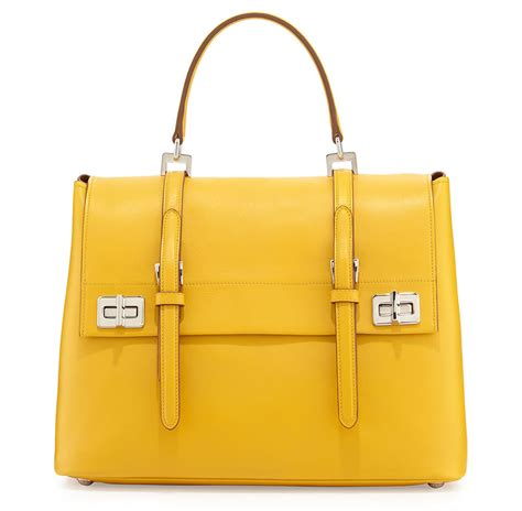 Prada Satchel Handbag by Prada S Fall 2014 Runway Bags Arrived In Stores