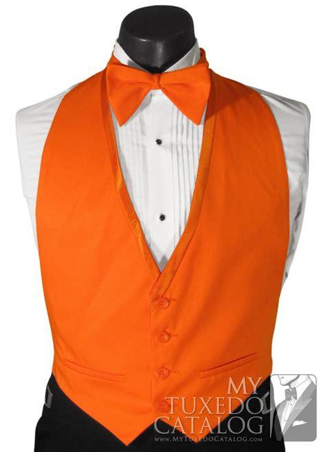 vest orange orange vest vests mytuxedocatalog