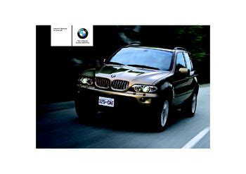 free car manuals to download 2005 bmw x5 user handbook 2005 bmw x5 3 0i owner s manual pdf 200 pages
